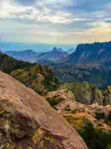 Chisos Mountains Vistas Big Bend Lost Mine Trail