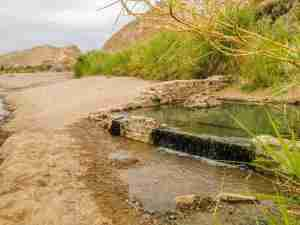 hot springs in the Hot Springs District of Big Bend National Park Texas