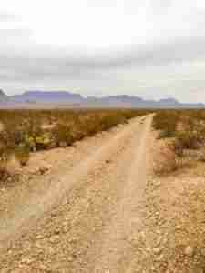 dirt road big bend