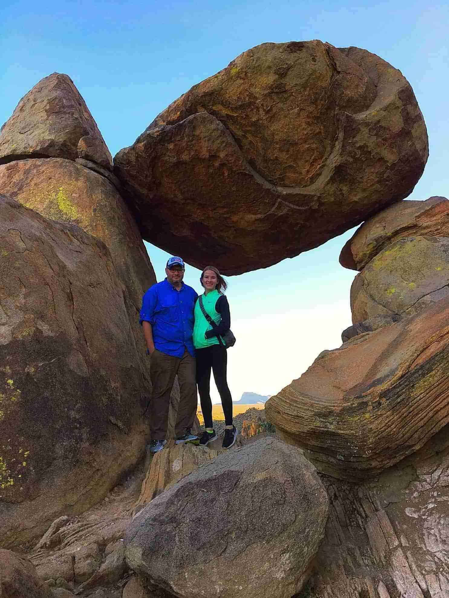 Big Bend Guide   Grapevine Hills Trail (Balanced Rock)