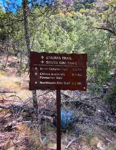 Big_Bend_Trail_Head_Sign_Colima_South_Rim_Trail