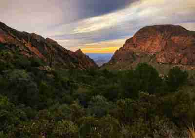 The Window View at Big Bend Sunset