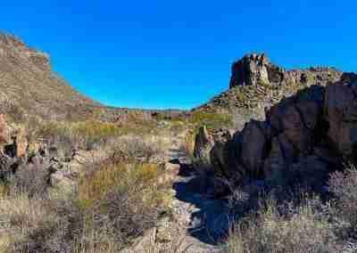 Ojito Adentro Trail in Big Bend Ranch State Park